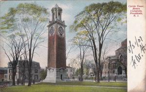 Carrie Tower, Brown University, PROVIDENCE, Rhode Island, PU-1907