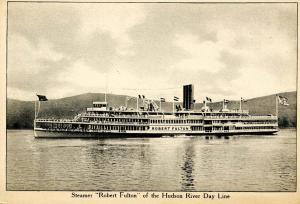 NY - Hudson River Day Line.Steamer Robert Fulton