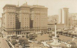 RP: SAN FRANCISCO, California , 1910s ; Hotel St Francis