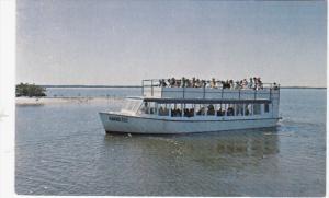 EVERGLADES CITY, Florida, 1940-1960's; Sightseeing Boat, Everglades National ...