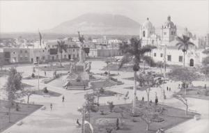 Peru trujillo Plaza de Armas Real Photo