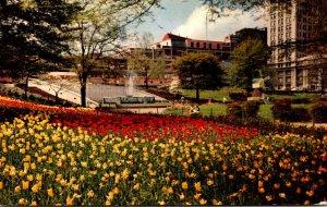 Georgia Atlanta Hurt Park With Tulips 1962