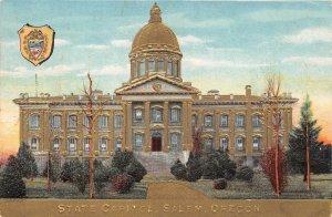 LPS81 Salem Oregon State Capitol Building Postcard