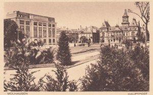 MULHAUSEN , France, 1900-1910's ; Hauptpost