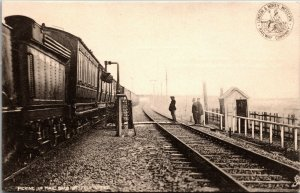 Picking Up Mail Bags At Full Speed, Train, London N. Western Railway Co. 1901