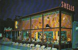 Florida Dania Priestley's Shell Shop 1964