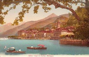 Lago di Como, Bellagio, Italy, Early Postcard, Unused