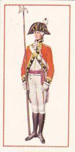 Carreras Vintage Cigarette Card Military Uniforms 1976 No 15 Sergeant 1792 Co...