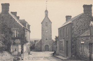ANTOIGNY, France,1910-1920s, La Rue de l'Eglise