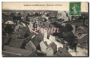 Romilly sur Seine - Panorama West Coast Old Postcard