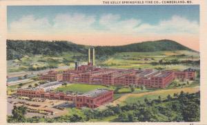 The Kelly Springfield Tire Co., CUMBERLAND, Maryland, PU-1953