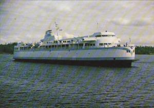 Canada M V Queen Of Victoria Ferry British Columbia
