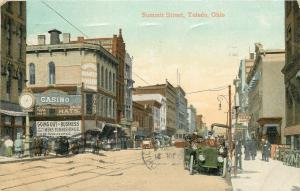 Toledo OH~Casino~Tri-State Business College~Going Out of Business~Bicycles 1909