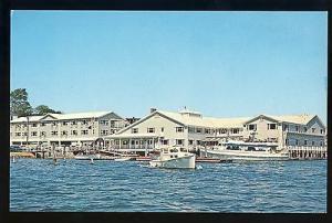 Boothbay Harbor, Maine/ME Postcard, Fisherman's Wharf Inn