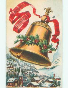 Divided-Back CHRISTMAS SCENE Great Postcard AA0239