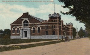 ST. CATHARINES , Ontario , Canada , 00-10s ; Armouries & Lake Avenue #2