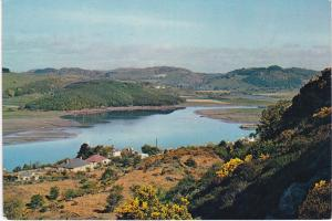 Post Card Scotlans Kirkcudbrightshire Kippford