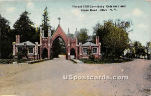 Forest Hill Cemetery, State Road Utica NY 1912