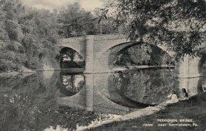 NORRISTOWN , Pennsylvania, 1900-10s ; Perkiomen Bridge