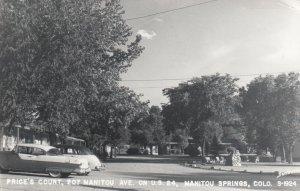 RP: MANITOU SPRINGS , Colorado , 1955 ; Price's Court