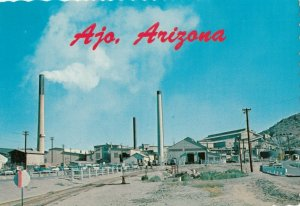 AJO , Arizona , 1950-70s ; Phelps Dodge Mill