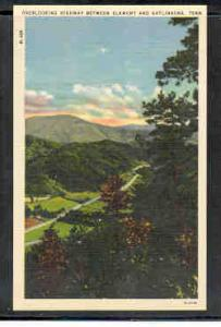 Tennessee colour PC Overlooking Elkmomt Gatlinburg Highway unused