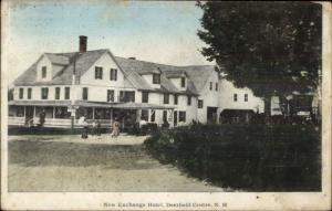 Deerfield Centre NH New Exchange Hotel  c1910 Postcard
