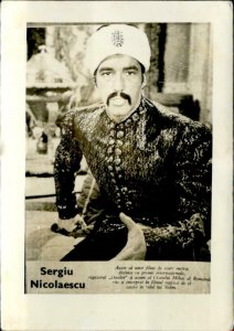 IMN01841 sergiu nicolaescu   actor movie star film 5x7cm