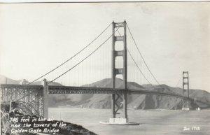 RP: SAN FRANCISCO, CA, 1930-40s ; Golden Gate Bridge ; ZAN 1712