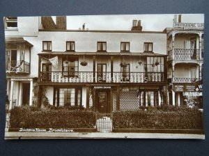 Kent BROADSTAIRS Dickens House & WARDS PHOTOGRAPHIC SHOP - RP Postcard by Wards