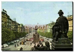 Postcard Modern Praha