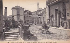 PHILIPPEVILLE, Namur, Belgium, 1900-1910´s; Le Jardin Du Musee Et Le Minaret...
