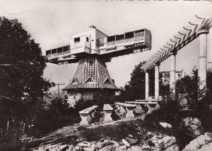 RP: AIX-LES-BAINS, La Savoie, France, 1946 ; Le solarium tournant
