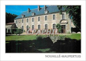 Postcard Modern Nouaille Maupertuis South Wing Ancienns dormitories and dinin...