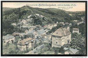 dc3063 - AUSTRIA Kaltenleutgeben 1908 Pfarrkirche z. h. Jakob by Ledermann
