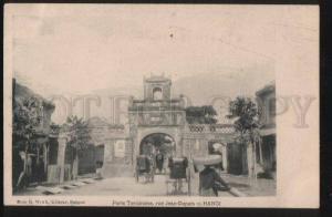 100634 VIETNAM Port Tonkinoise rue Jean-Dupuis Hanoi Vintage
