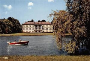 Belgium Domaine de Cambron Lake Boat Bateau