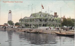 Canada Royal Hamilton Yacht Club Hamilton Ontario 1909