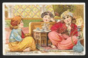VICTORIAN TRADE CARD Woolson Spice Sindbad the Sailor