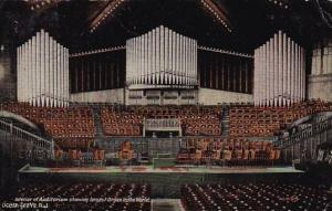 New Jersey Ocean Grove Interior Of Auditorium Showing Largest Organ In The World