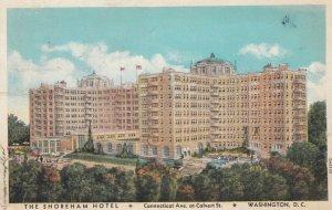 WASHINGTON D.C. , 1932 ; Shoreham Hotel