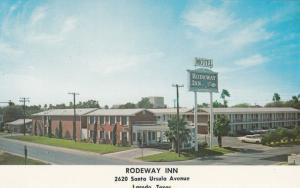 LAREDO, Texas, 40-60s; Rodeway Inn, Classic Cars