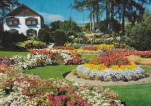 Canada Flowers In Cominco Gardens Kimberley British Columbia