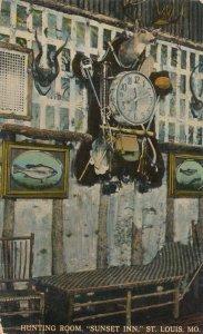 St Louis, Missouri - Hunting Room at Sunset Inn - pm 1913 - DB