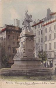 Marseille (Bouches-du-Rhone), France, 1900-1910s, Place de la Bourse