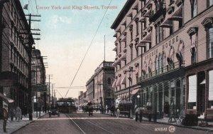 TORONTO, Ontario, Canada, PU-1908; Corner York & King Street