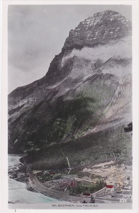RP: Mt Stephen & FIELD , B.C. , Canada , 20-30s