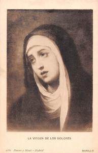La Virgen de Los Dolores Murillo, Blessed Virgin Mary mother of Jesus