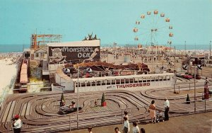 LPN88 Wildwoods by the Sea New Jersey Postcard Marine Pier Amusement Park