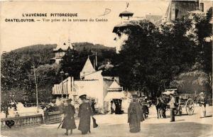 CPA Chatel-Guyon Vue prise de la terrasse du Casino (720499)